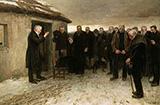 A Highland Funeral 1882 - James Guthrie