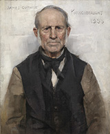 Old Willie the Village Worthy 1886 - James Guthrie