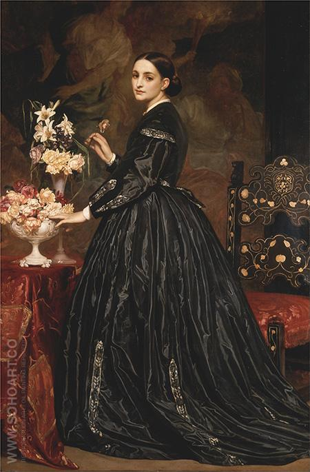 Leighton Mrs James Guthrie - James Guthrie reproduction oil painting