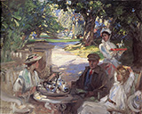 The Garden Party - James Guthrie