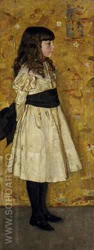 Margaret Helen Sowerby known as Helen Sowerby 1882 - James Guthrie reproduction oil painting