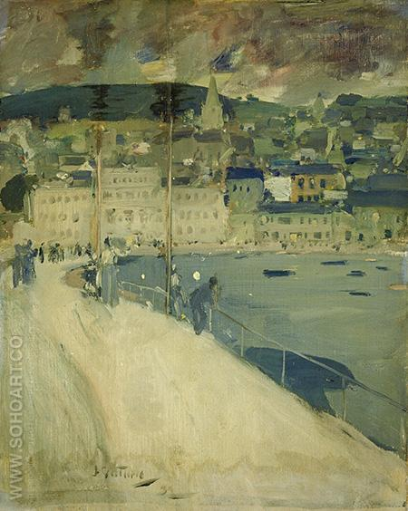 Oban - James Guthrie reproduction oil painting