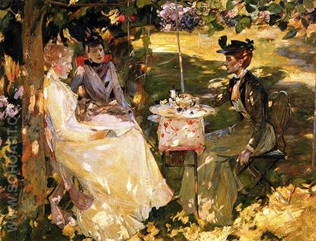 Midsummer - James Guthrie reproduction oil painting