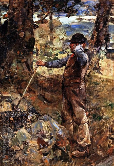 The Stonebreaker - James Guthrie reproduction oil painting
