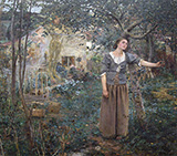 Joan of Arc 1879 - Jules Bastien-Lepage reproduction oil painting