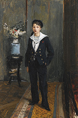 Portrait of a Young Boy - Jules Bastien-Lepage