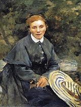 The Artist's Mother 1877 - Jules Bastien-Lepage