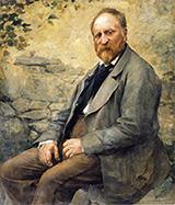 Portrait of the Artist's Father - Jules Bastien-Lepage