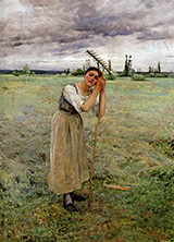 The Haymaker�s Rest 1881 - Jules Bastien-Lepage