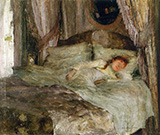 La Jeune Femme Endormie 1880 - Jules Bastien-Lepage