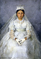 La Communiante 1875 - Jules Bastien-Lepage