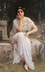 Meditation - Charles Amable Lenoir