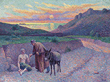 Le Bon Samaritain 1896 - Maximilien Luce