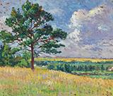 Paysage Pres De Mereville 1905 - Maximilien Luce