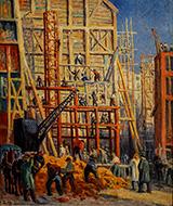 Le Chantier 1911 - Maximilien Luce