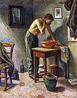 Man Washing 1887 - Maximilien Luce