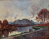 The River Sambre at Charleroi 1896 - Maximilien Luce
