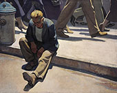 Forgotten Man 1934 - Maynard Dixon reproduction oil painting