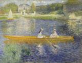 The Skiff aka La Yole 1875 - Pierre Auguste Renoir