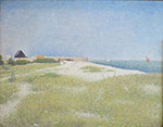 View of Fort Samson 1885 - Georges Seurat