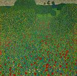 Field of Poppies - Gustav Klimt