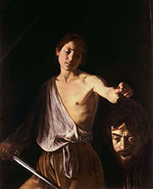David with the Head of Goliath c1610 - Caravaggio