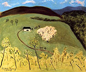 Apple Orchard in Bloom 1943 - Milton Avery