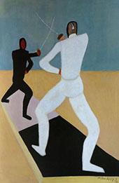 Fencers 1944 - Milton Avery
