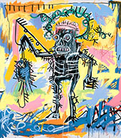 Untitled 1981 F - Jean-Michel-Basquiat