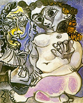 Man and Naked Woman 1967 - Pablo Picasso