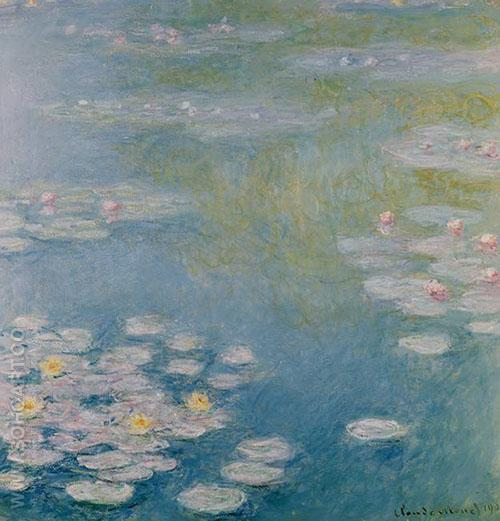 Nympheas Giverny 1907 - Claude Monet reproduction oil painting