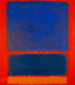 Orange Blue Red 1961 - Mark Rothko