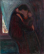 The Kiss 1897 - Edvard Munch
