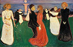Dance of Life c1899 - Edvard Munch