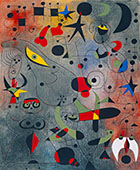 Le Reveil au Petit Jour from Constellations - Joan Miro