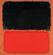 Black, Orange and Red 1962 - Mark Rothko
