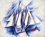 Sail in Two Movements 19191 - Charles Demuth