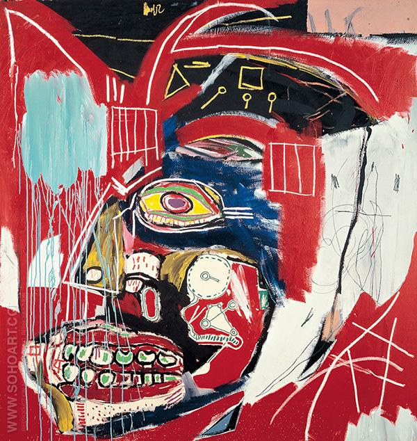 In That Case 1983 - Jean-Michel-Basquiat reproduction oil painting