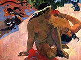 Jealous - Paul Gauguin