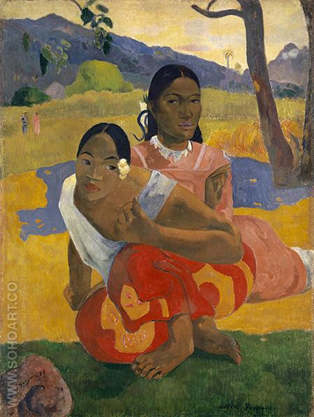 Marry Me - Paul Gauguin reproduction oil painting
