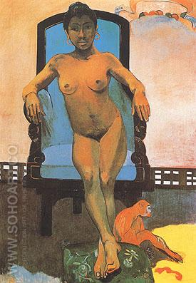 Anna - Paul Gauguin reproduction oil painting