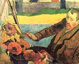 Van Gogh - Paul Gauguin reproduction oil painting