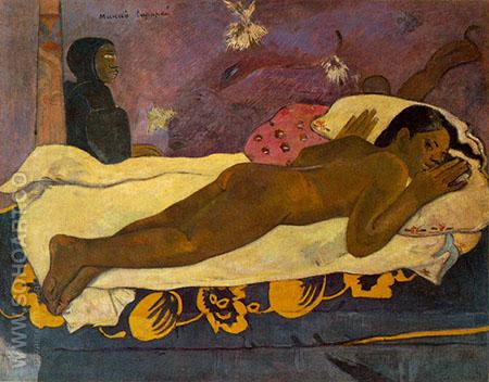 Spirit of the Dead Keeps Watch - Paul Gauguin reproduction oil painting