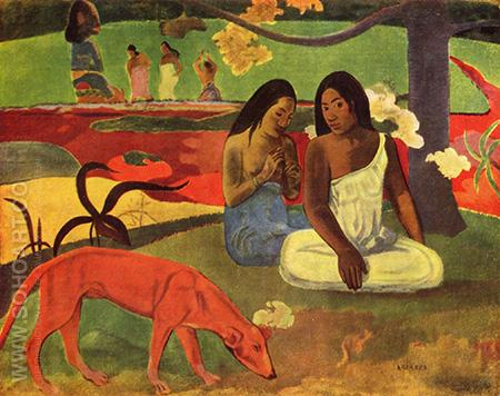 Joyousness - Paul Gauguin reproduction oil painting