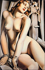 Andromeda 1929 - Tamara de Lempicka reproduction oil painting