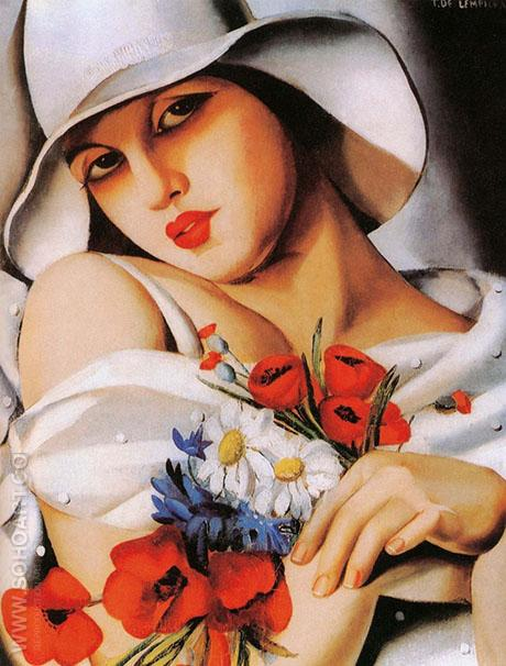 High Summer - Tamara de Lempicka reproduction oil painting