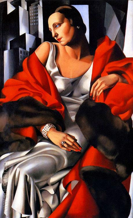 Madam Boucard - Tamara de Lempicka reproduction oil painting