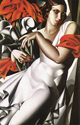 Ira P - Tamara de Lempicka reproduction oil painting