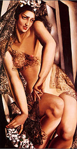Nana de Herrera - Tamara de Lempicka reproduction oil painting