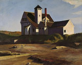 Coast Guard Station 1927 - Edward Hopper